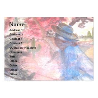 PONY EXPRESS AMERICANA BUSINESS CARD
