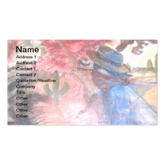 PONY EXPRESS AMERICANA PACK OF STANDARD BUSINESS CARDS