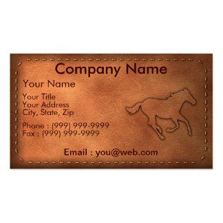Pony Express Modèles De Cartes De Visite