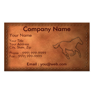 Pony Express Pack Of Standard Business Cards