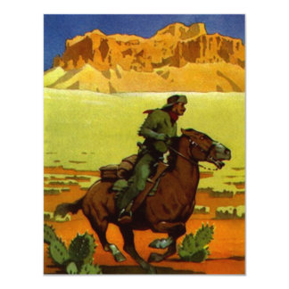 Pony Express Postal Service Retirement Invitation
