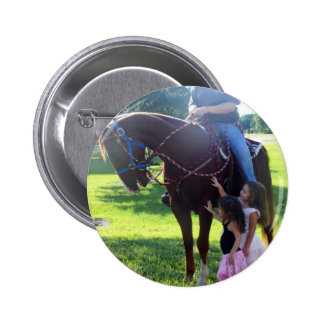 Pony Girls Pinback Buttons