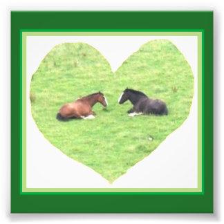 Pony Heart Photo Print