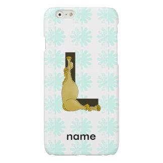 Pony L Monogram Glossy iPhone 6 Case