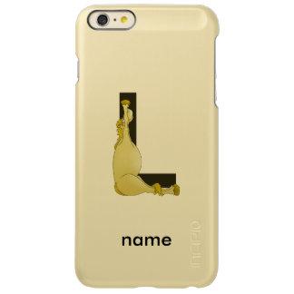 Pony L Monogram Incipio Feather® Shine iPhone 6 Plus Case