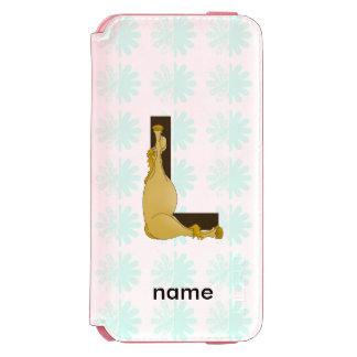 Pony L Monogram Incipio Watson™ iPhone 6 Wallet Case
