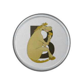 Pony Monogram Letter B Bluetooth Speaker