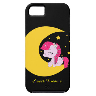 Pony on the moon - iphone 5/s5 case iPhone 5 cases
