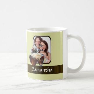 Pony photo template basic white mug