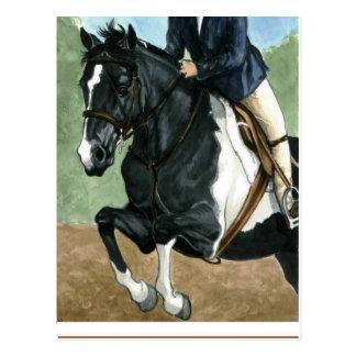 Pony Power! Showjumping Pony Postcard