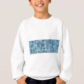 Pony spread sweatshirt