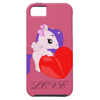 Pony with heart - iphone 5/5S case