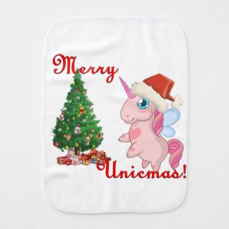 Ponychristmas Burp Cloth