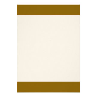 "Poo Brown color 5"" X 7"" Invitation Card"