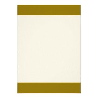"""Poo colored 5"""" x 7"""" invitation card"""