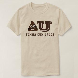 Poo U Summa Cum Laude T-Shirt