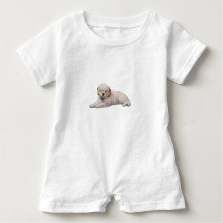 Poodle Baby Bodysuit