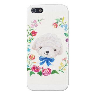 Poodle Bichon Frise White Puppy Dog Phone Case