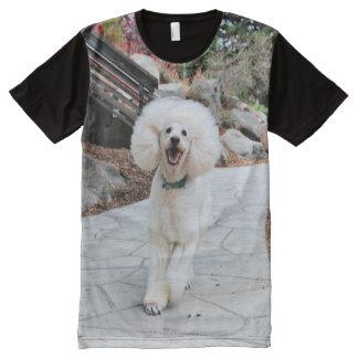 Poodle - Brulee - Trainer All-Over Print T-Shirt