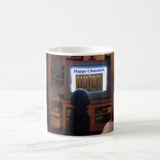 Poodle Chanukah Coffee Mugs