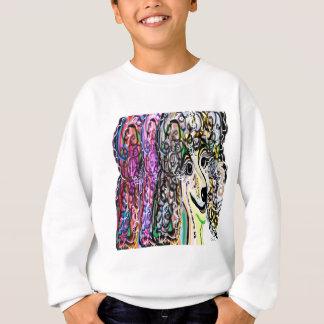 Poodle Color Transition Sweatshirt