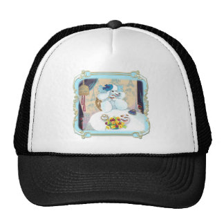 Poodle Cupcake Tea Party Trucker Hat