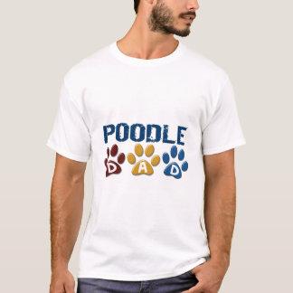 POODLE Dad Paw Print 1 T-Shirt
