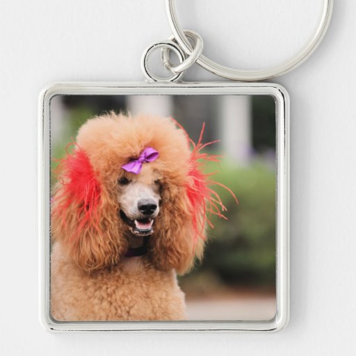Poodle Day 2010 #1 Keychain