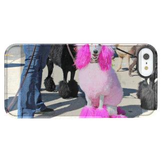 Poodle Day 2016 - Barnes - Pink Standard Poodle Clear iPhone SE/5/5s Case