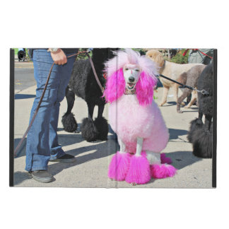 Poodle Day 2016 - Barnes - Pink Standard Poodle iPad Air Cases