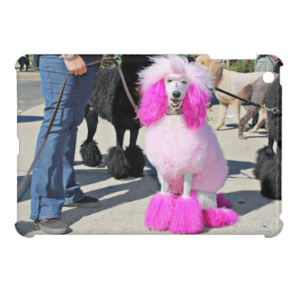 Poodle Day 2016 - Barnes - Pink Standard Poodle iPad Mini Cases