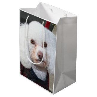 Poodle Dog gift bag