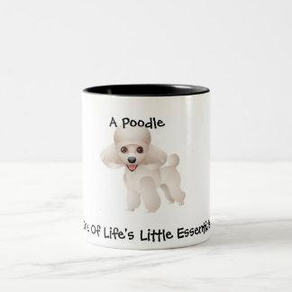 Poodle Essentials Two-Tone Coffee Mug