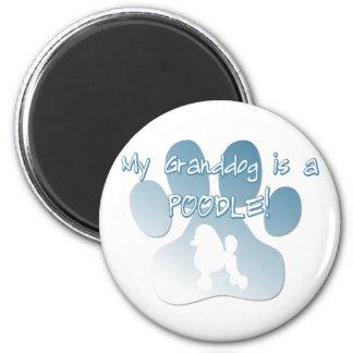 Poodle Granddog Magnet