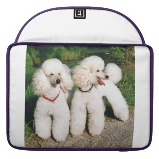 poodle group white sleeve for MacBook pro