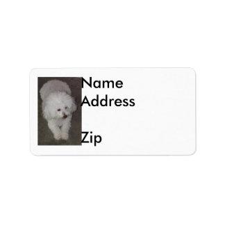 Poodle Label