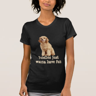 Poodle Ladies Shirt