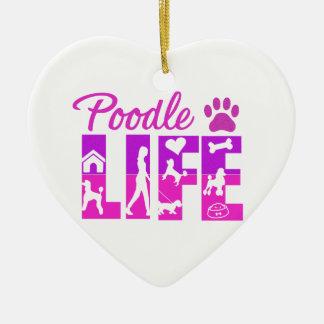 Poodle Life Ornament