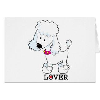 Poodle Lover Card