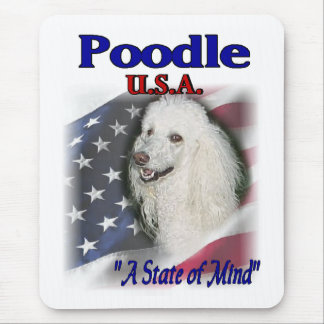 Poodle Lovers Gifts Mouse Pad