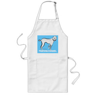 Poodle. Make dog cookies Apron