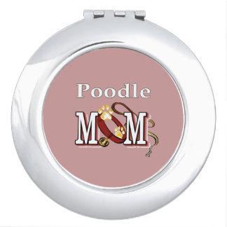 Poodle Mom Gifts Vanity Mirror