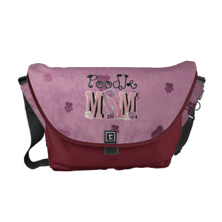 Poodle MOM Messenger Bags