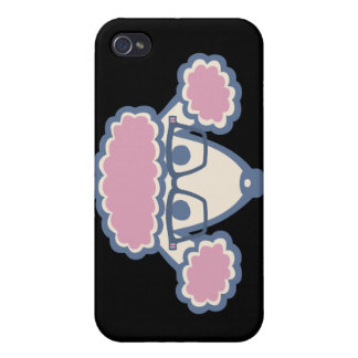 Poodle Nerd Cover For iPhone 4