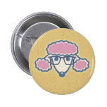 Poodle Nerd Pinback Buttons
