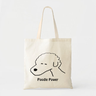 Poodle Power Tote Bag
