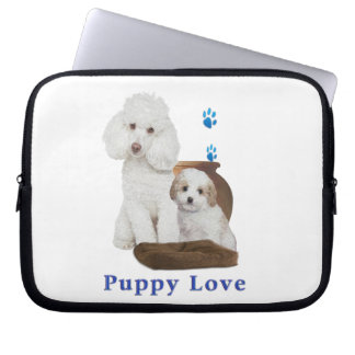 poodle-products laptop sleeve
