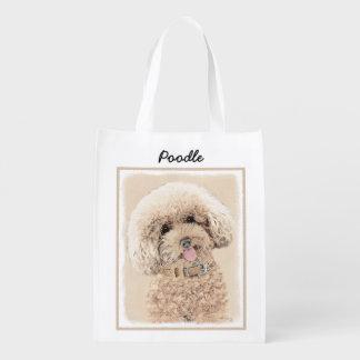 Poodle Reusable Grocery Bag