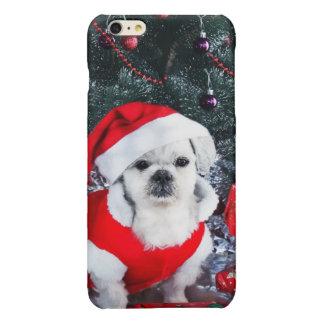 Poodle santa - christmas dog - santa claus dog