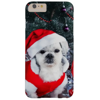 Poodle santa - christmas dog - santa claus dog barely there iPhone 6 plus case